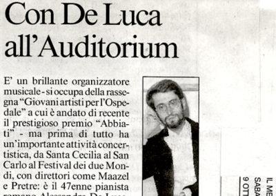 Concerto in Sala Sinopoli