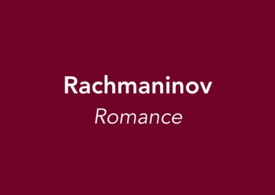 Rachmaninov | Romance