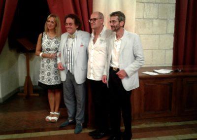Roberta Ranucci, Philippe Daverio, Giovanni Cardia e Alessandro De Luca