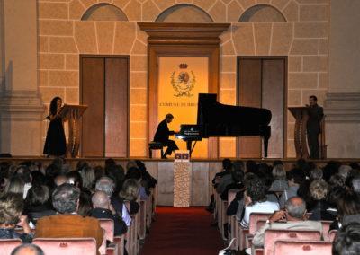 Sala del Conservatorio Brescia 2010 De Luca - Sergio Mascherpa e Laura Mantovi
